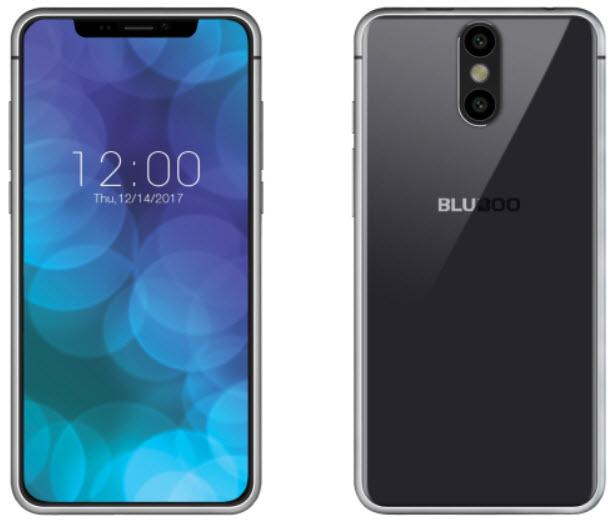 Клон iPhone X в исполнении Bluboo  получит аккумулятор емкостью 5500 мА•ч и аналог системы Face ID