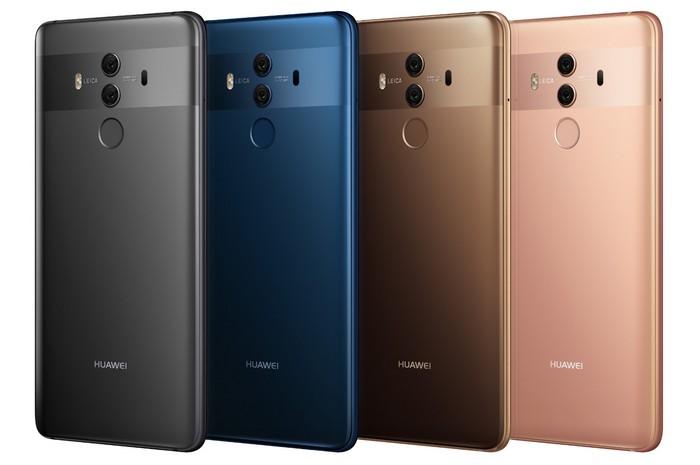 Huawei отгрузила 153 млн смартфонов в 2017 году