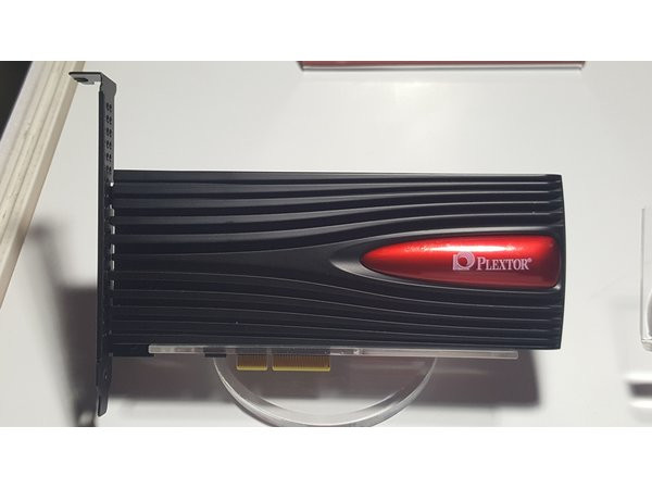 Твердотельные накопители Plextor M9Pe должны появиться на рынке в будущем году