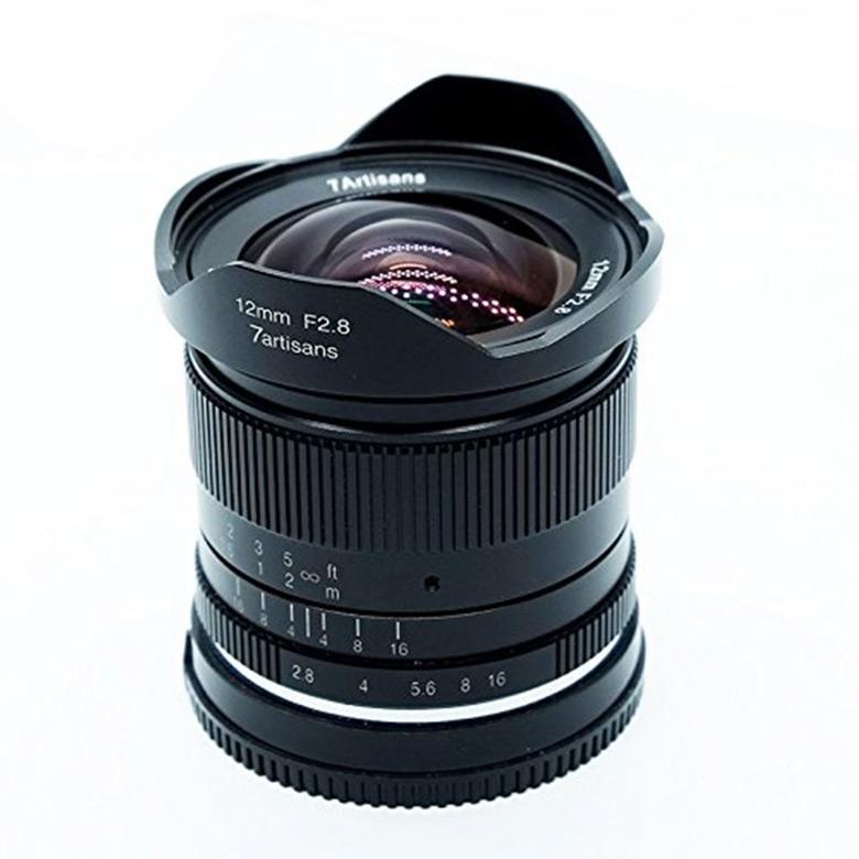 Начались продажи объективов 7Artisans 12mm F2.8 и 35mm F1.2 для беззеркальных камер формата APS-C