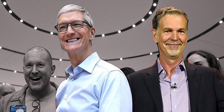 Apple может купить не Disney, а Netflix