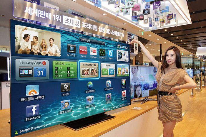 На рынке телевизоров наибольший рост демонстрируют премиальные модели
