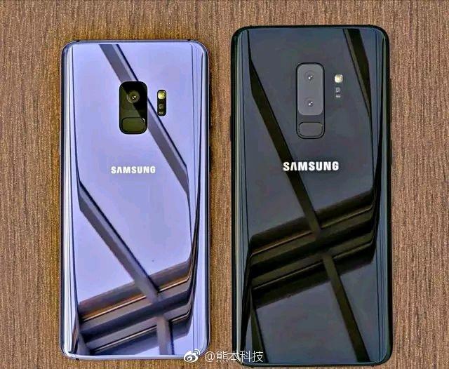 Опубликованы качественные фотографии задних панелей Samsung Galaxy S9 и Galaxy S9+