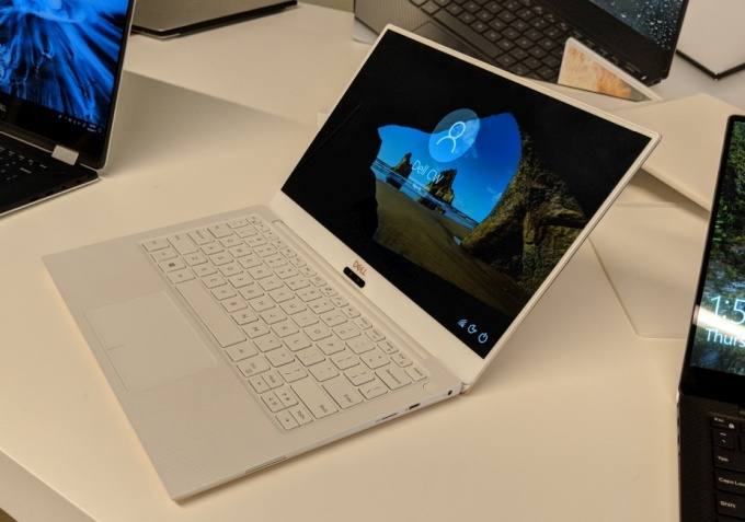 Ноутбук Dell XPS 13 оснащён CPU Intel Core восьмого поколения