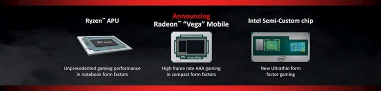 GPU Vega появятся в дискретных мобильных адаптерах