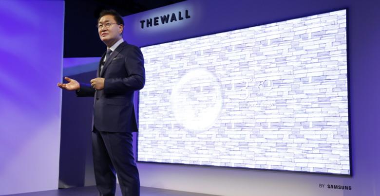 Samsung The Wall — первый в мире 146-дюймовый модульный телевизор MicroLED