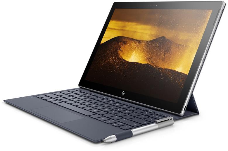 Компьютер HP Envy x2 на процессоре Intel Core может считаться прямым конкурентом модели Microsoft Surface Pro 4