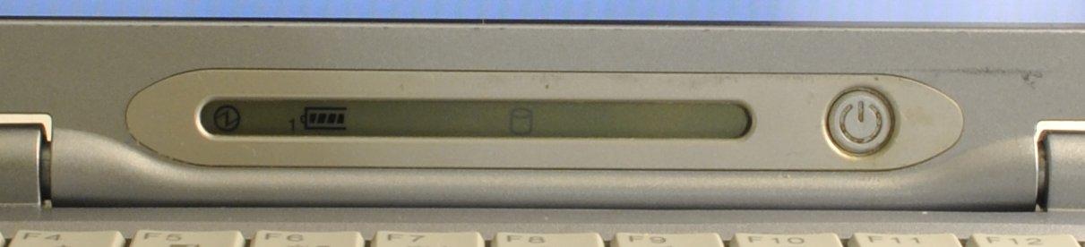 Ультрабук начала 2000-х – обзор Fujitsu LifeBook P-1032 - 4