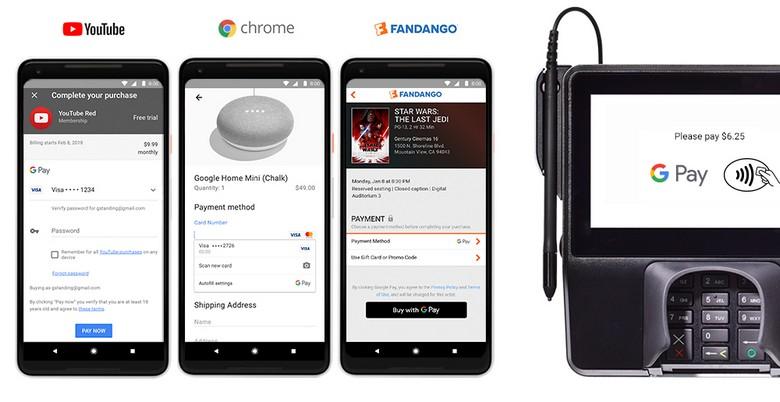 Google объединяет Android Pay и Google Wallet в бренд G Pay