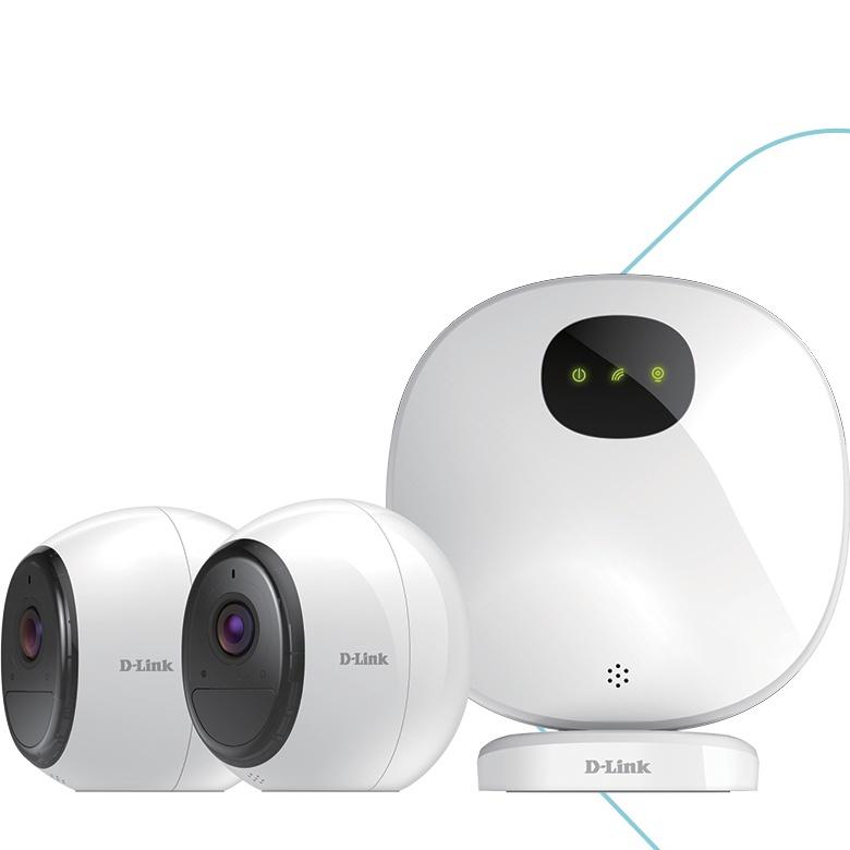 Камеры видеонаблюдения D-Link DCS-1820LH и DCS-2802KT используют беспроводное подключение