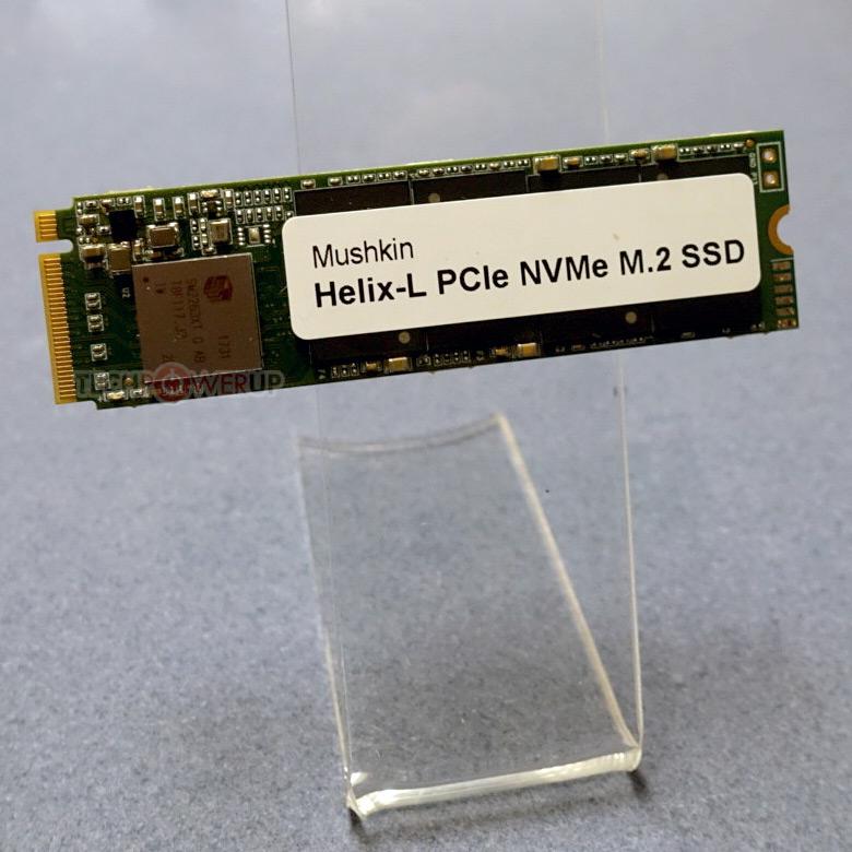 На CES 2018 показаны SSD Mushkin Helix-L и Pilot
