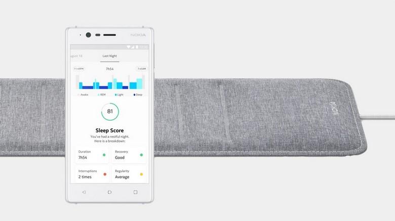 Трекер сна Nokia Sleep стоит 100 долларов