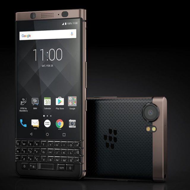 Представлен смартфон BlackBerry KEYone Bronze Edition