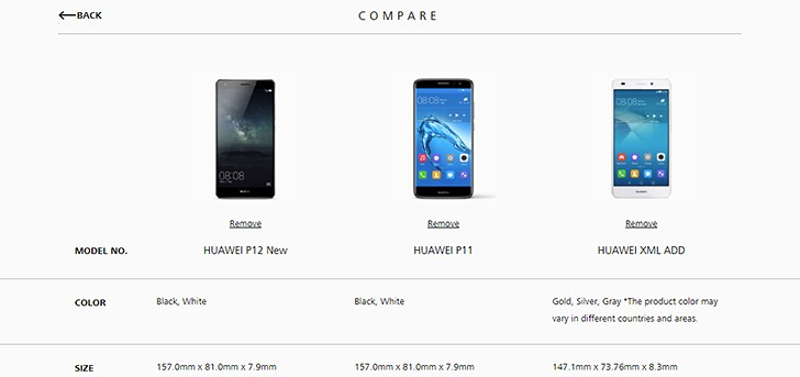 По предварительным сведениям, анонс Huawei P11 может состояться в феврале