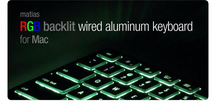 Matias выпустила алюминиевую клавиатуру с подсветкой для ПК и Mac