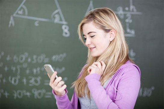 Из-за смартфонов студенты плохо учатся