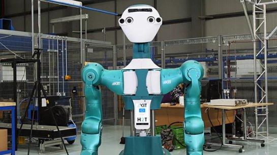 В британском интернет-супермаркете представлен робот-помощник