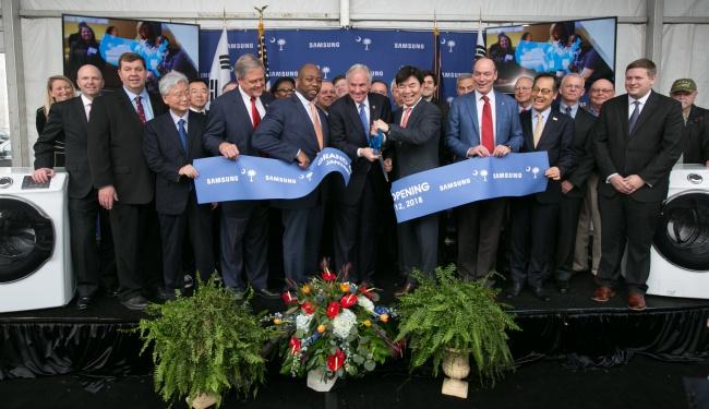 Новый американский завод Samsung начал работу