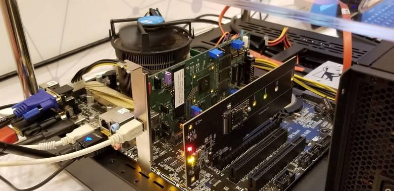 Marvell показала высокоскоростной контроллер для SSD с QLC