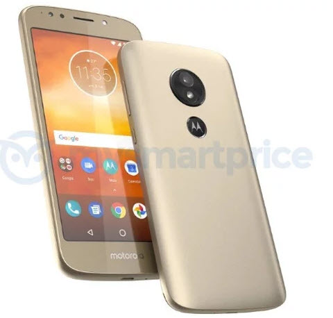 Опубликовано изображение смартфона Moto E5