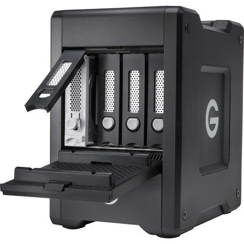 WD представила хранилища G-Technology G-Speed Shuttle with Thunderbolt 3
