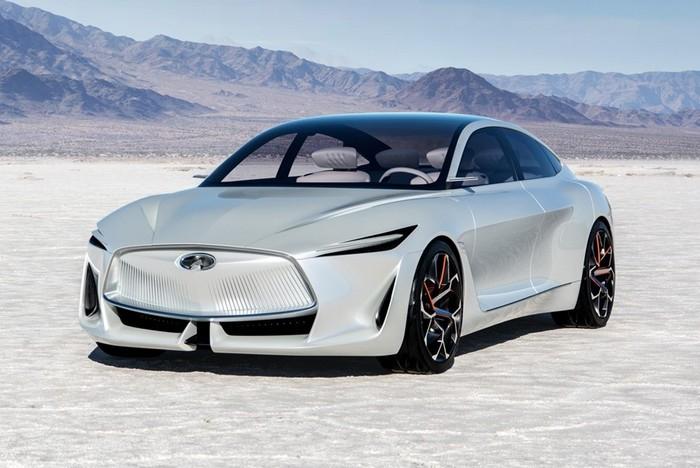 Infiniti планирует начать выпуск электромобилей в 2021 году