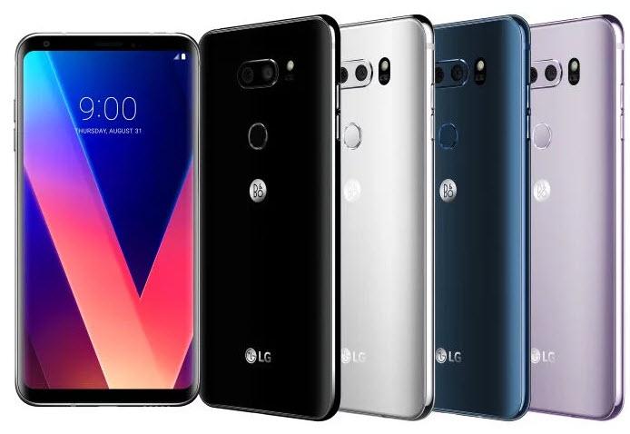 На MWC 2018 могут представить обновленный смартфон LG V30, но не LG G7