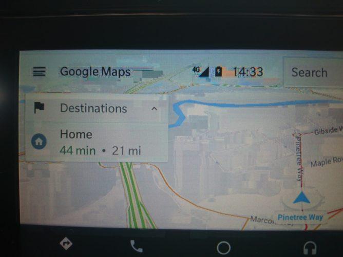 У некоторых пользователей изображение при использовании Android Auto искажается