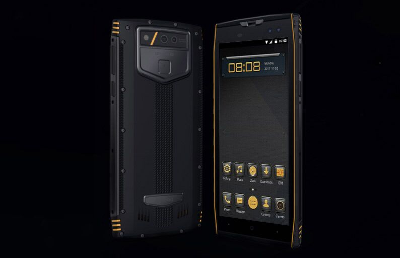 Защищенный смартфон Aermoo M2 получил сдвоенные камеры PureView Carl Zeiss