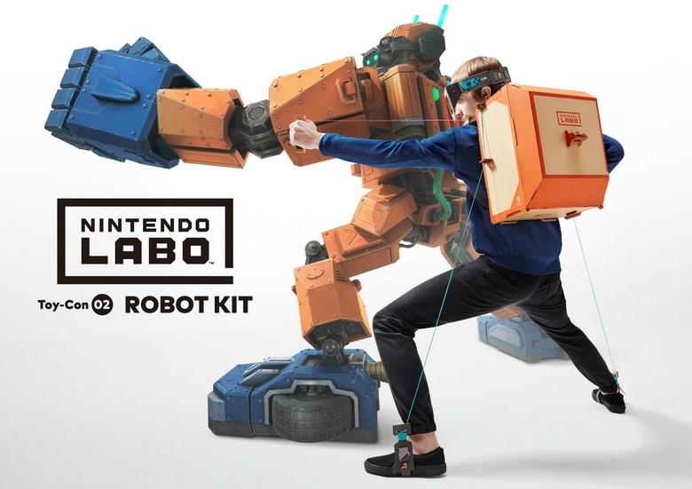 Конструктор Nintendo Labo существует в виде трёх наборов