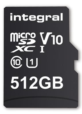 Integral Memory скоро выпустит карту памяти microSD объемом 512 ГБ
