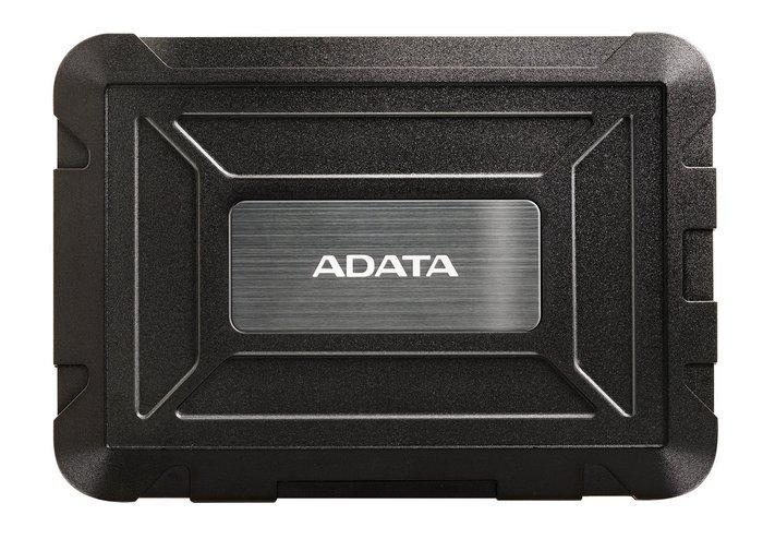 Корпус Adata ED600 для HDD и SSD имеет степень защиты IP54