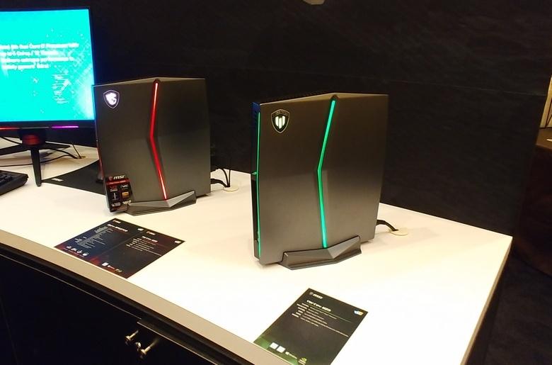 Рабочая станция MSI Vortex W25 оснащена новыми CPU Intel