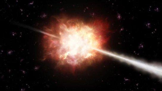 Вспышки гамма-лучей впервые воссозданы в лаборатории