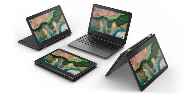 Новые хромбуки Lenovo не боятся падений и воды