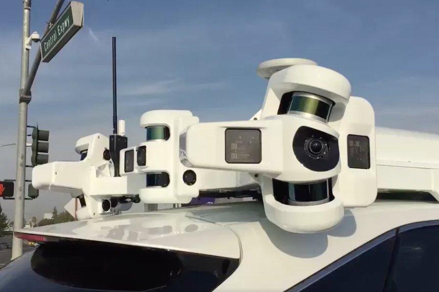Apple расширяет парк самозарядных автомобилей в Калифорнии