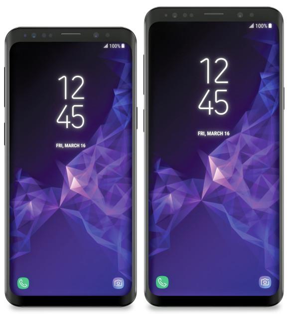 Опубликованы официальные изображения смартфонов Samsung Galaxy S9 и S9+