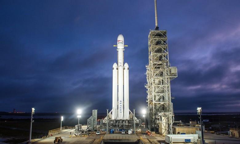 Falcon Heavy совершит свой первый полёт 6 февраля