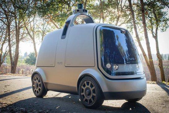 Nuro представляет свой особый автономный транспорт