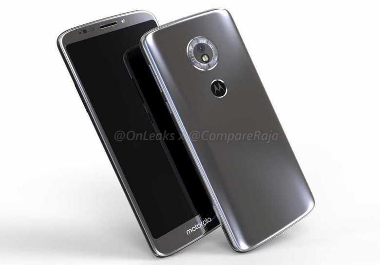 Motorola Moto G6 Play будет выглядеть дороже своей цены