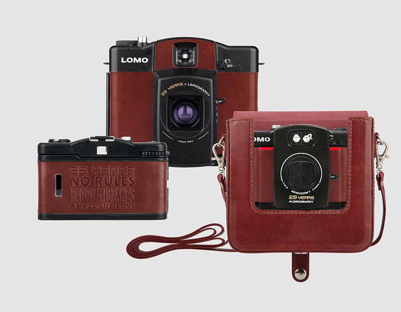 25-летие Lomography отмечено выпуском трех памятных моделей камер