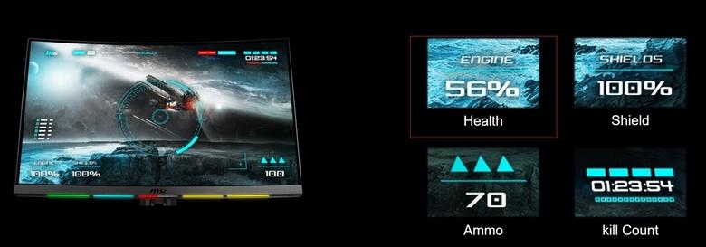 Монитор MSI Optix MPG27CQ получил технологию Steelseries GameSense