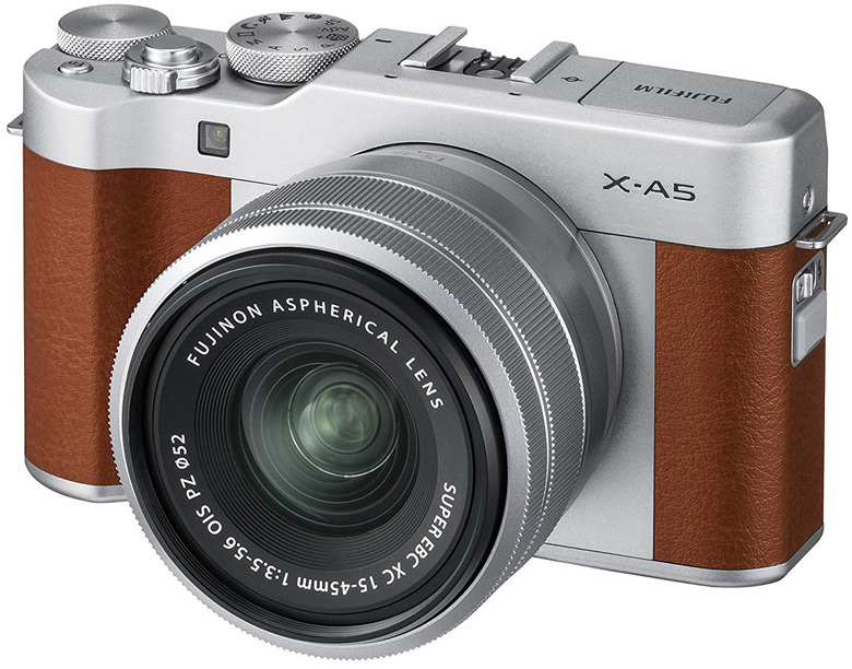 Рекомендованная цена камеры Fujifilm X-A5 с объективом Fujinon XC15-45mmF3.5-5.6 OIS PZ равна $600