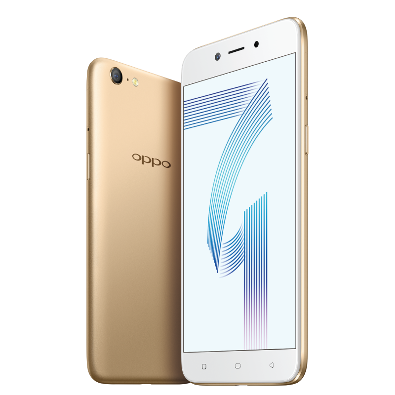 Представлен бюджетный смартфон Oppo A71 (2018) стоимостью $180