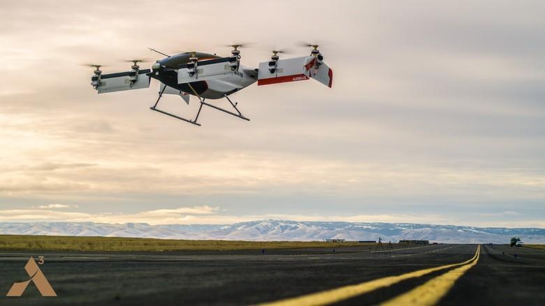 Летательный аппарат Airbus Vahana успешно прошёл лётные испытания