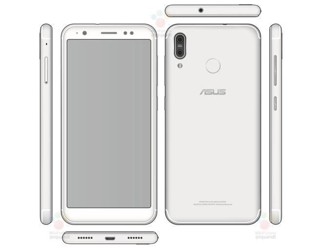 Опубликованы характеристики и изображение смартфона Asus Zenfone 5 X00PD