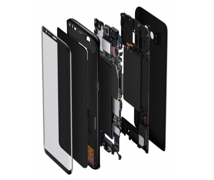 Экран AMOLED нового поколения будет занимать 93% передней панели Samsung Galaxy S10