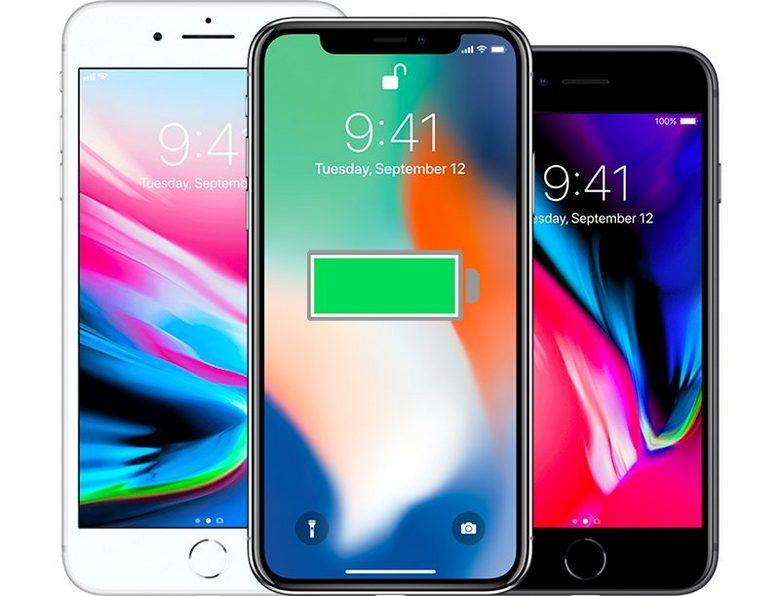Смартфон iPhone 8, 8 Plus и iPhone X получили улучшенную систему, снижающую производительность при устаревании аккумулятора