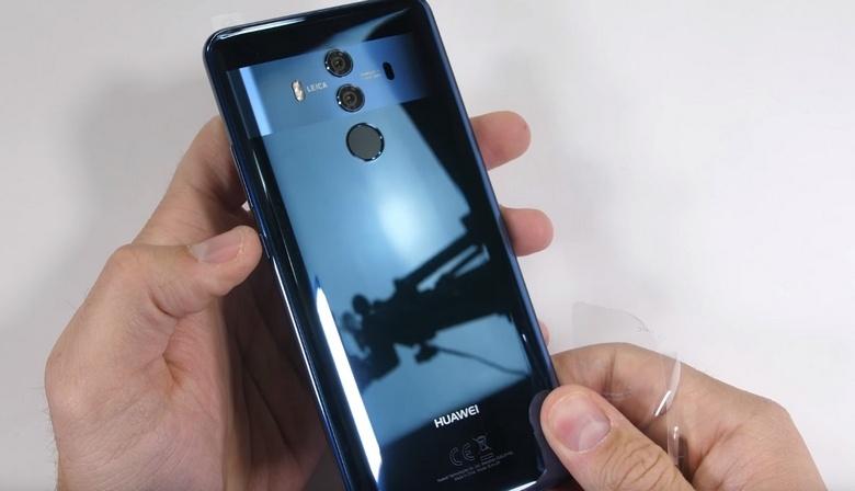 JerryRigEverything испытал на прочность Huawei Mate 10 Pro