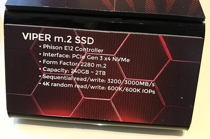 SSD Patriot Viper, характеристики